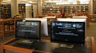 Tour Pitts Theology Library's New Space